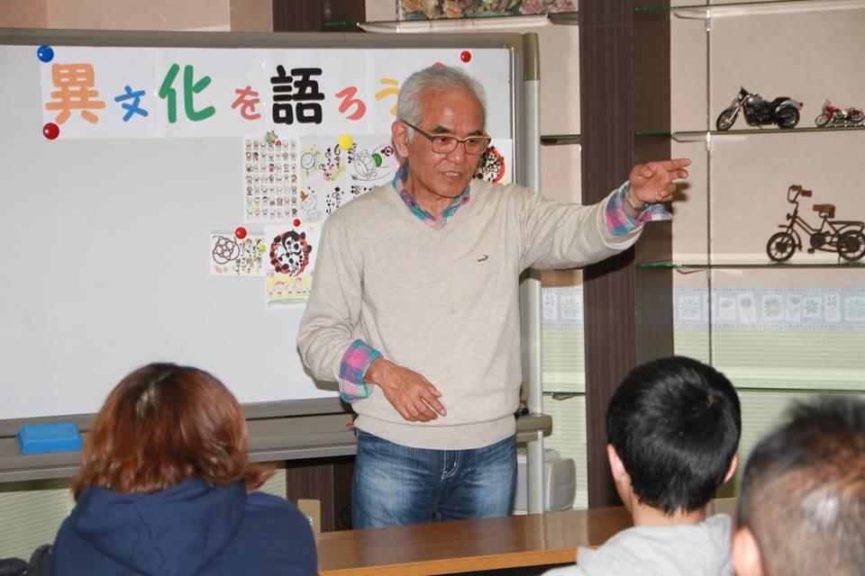 山元の講演写真
